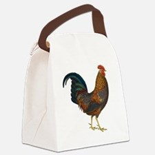 Rooster Canvas Lunch Bag