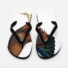 Rooster Flip Flops