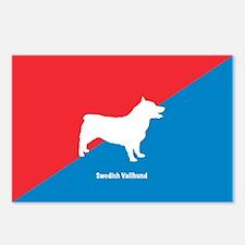 Vallhund Postcards (Package of 8)