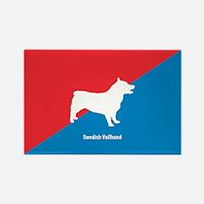 Vallhund Rectangle Magnet