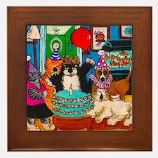 Umi's Birthday Party Framed Tile
