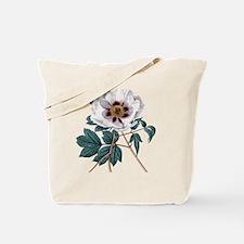 Vintage Peony Tote Bag