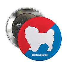 Tibetan Spaniel Button
