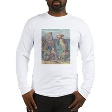 """""""Uglification"""" Quote on BACK - Long Sleeve T-Shirt"""