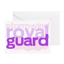 stormwind royal guard Greeting Card