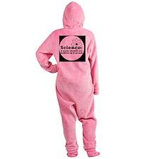 sciencebutton Footed Pajamas