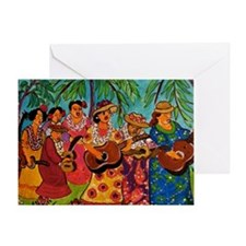 Singing Aunties Greeting Card