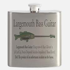 Largemouth Bass Guitar Flask