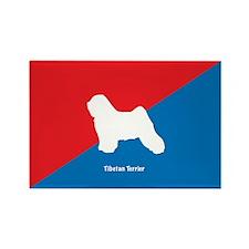 Terrier Rectangle Magnet (10 pack)