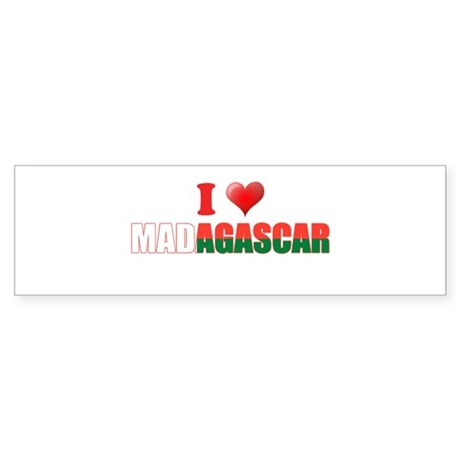I love Madagascar Bumper Sticker