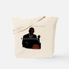 Obama and communism Tote Bag