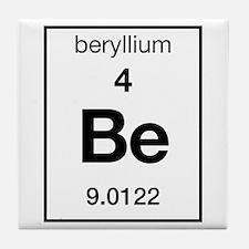 Beryllium Tile Coaster