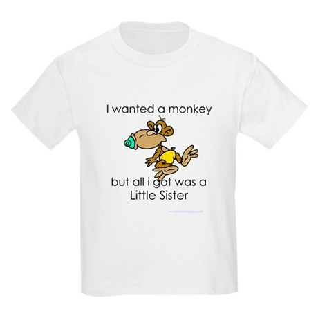 I wanted a monkey Kids Light T-Shirt