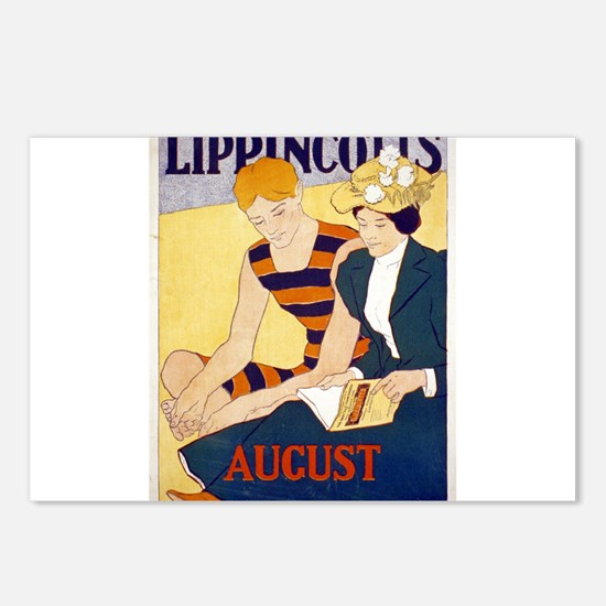 Lippincotts August - J J Gould - 1896 - Poster Pos