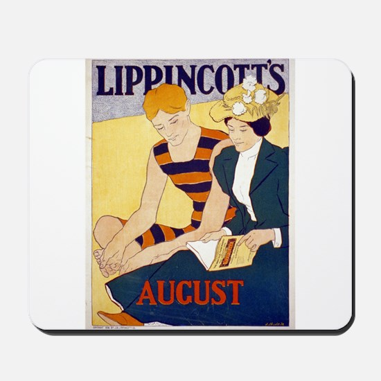 Lippincotts August - J J Gould - 1896 - Poster Mou