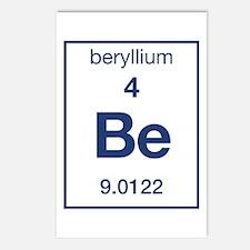 Beryllium Postcards (Package of 8)