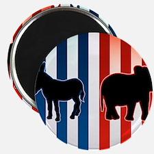 American Election Vector Illustration Magnet