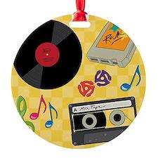 Retro Music Collection Ornament