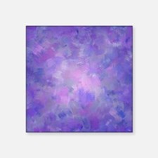 "Pink, purple and lavender c Square Sticker 3"" x 3"""