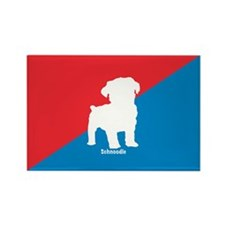 Schnoodle Rectangle Magnet (100 pack)