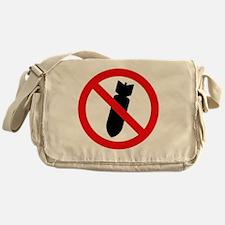 Stop Bombing Sign Messenger Bag