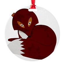 Cartoon Fox Ornament