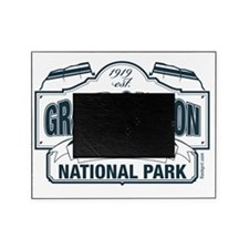 Grand Canyon Blue Signage Picture Frame