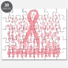 breast cancer march illustration Puzzle