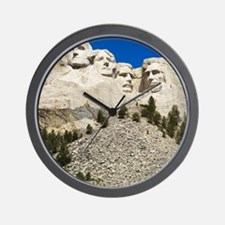 Mount Rushmore National Memorial with m Wall Clock