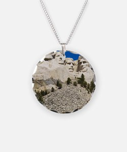 Mount Rushmore National Memo Necklace