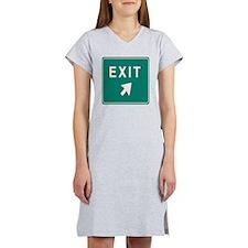 Freeway Exit Women's Nightshirt