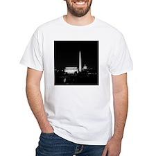 Washington DC Skyline with Lincol Shirt