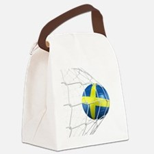 3d rendering of a Swedish soccer  Canvas Lunch Bag