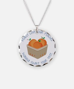 Love Your Peaches Necklace