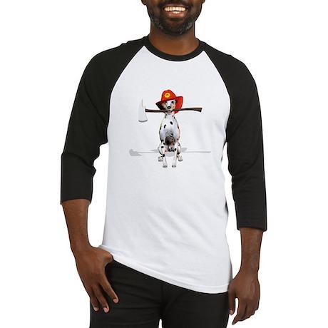Dalmatian-Firema's Dog Baseball Jersey