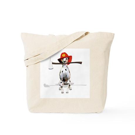 Dalmatian-Firema's Dog Tote Bag