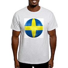 3d rendering of a Swedish soccer bal T-Shirt