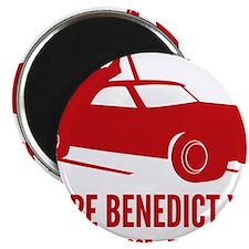 Pope Benedict Retirement Magnet
