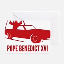 Pope Benedict Retirement Greeting Card