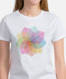 Abstract summer leaves Women's T-Shirt