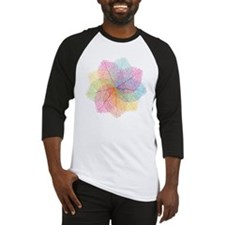 Abstract summer leaves Baseball Jersey