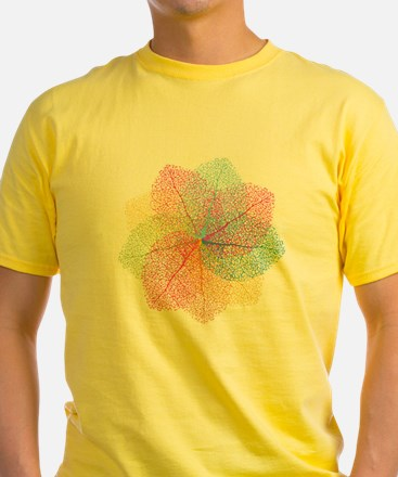 Abstract summer leaves T