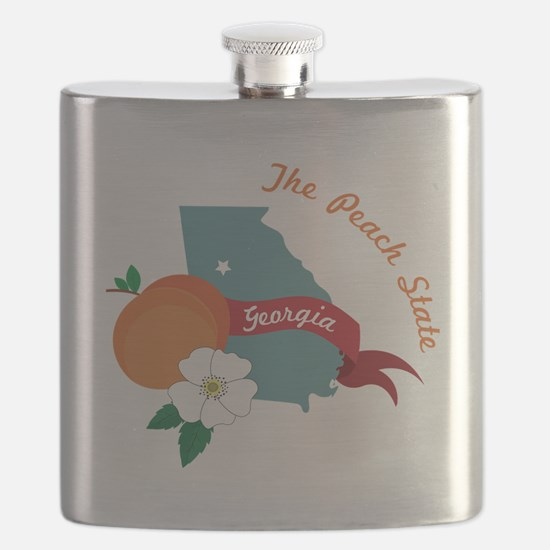 The Peach State Flask