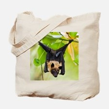 Fruit Bat Hanging In A Tree Tote Bag