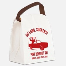 Pope So Long Suckers Canvas Lunch Bag