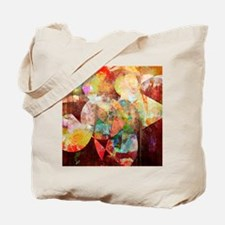 Mixed Media Collage Tote Bag