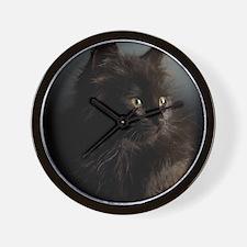 Little Black Cat Wall Clock