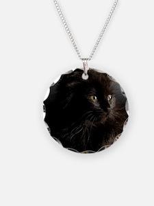 Little Black Cat Necklace