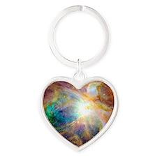 Nebula Heart Keychain