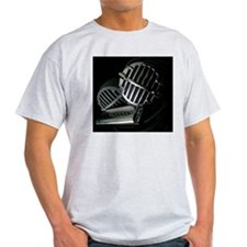 Harmonica and Vintage Microphones ts T-Shirt